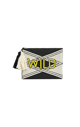 WILD - Sac pochette Carew Black