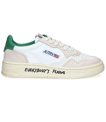 AUTRY - Sneakers Low wom NC01 Crack/nylon/amazon