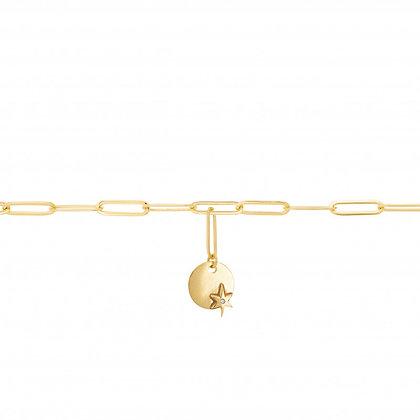 UNE A UNE - Bracelet médaille
