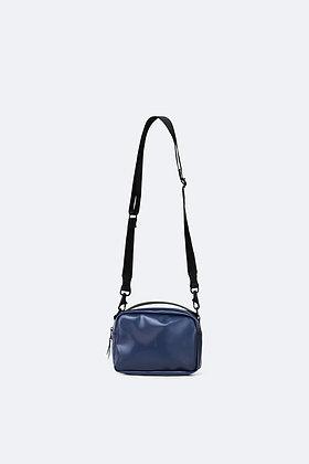 RAINS Box Bag Shiny Blue