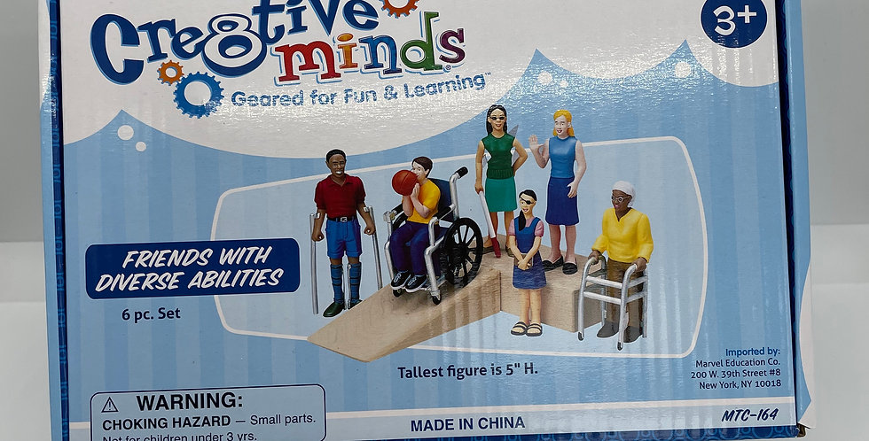 3 and Up: Friends with Diverse Abilities Kit