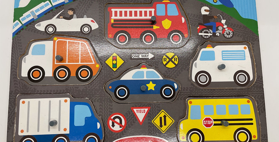 2 and Up: Transportation Puzzle