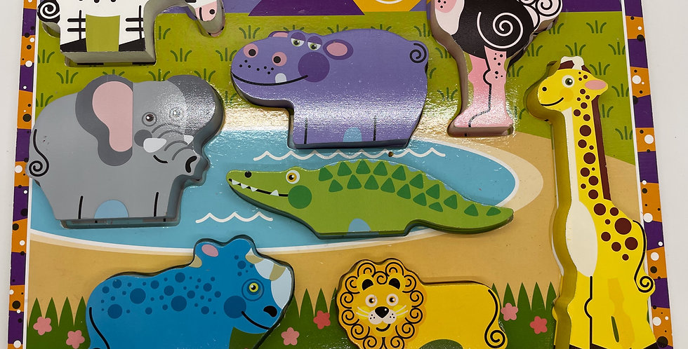 2 and Up: Wild Animal Puzzle