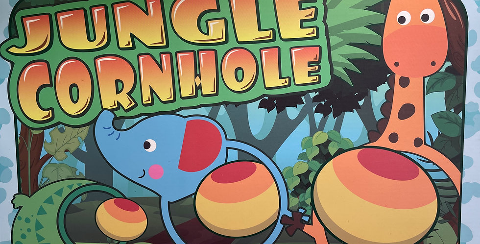 4 and Up: Jungle Themed Corn Hole Game