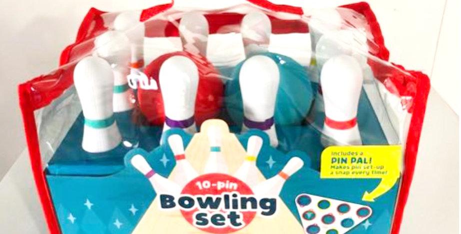 3 and Up: Ten-Pin Bowling Set
