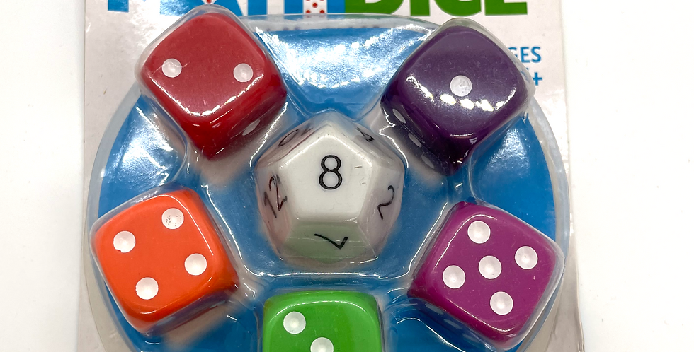 6 and Up: Math Dice Game