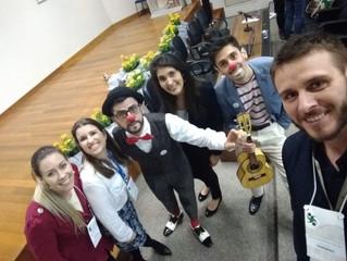 NARIZ SOLIDÁRIO MARCA PRESENÇA NO 3º SIMPÓSIO DE FISIOTERAPIA DA FEAES