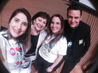Nariz solidário no evento Elo solidário (Hospital do Rocio)