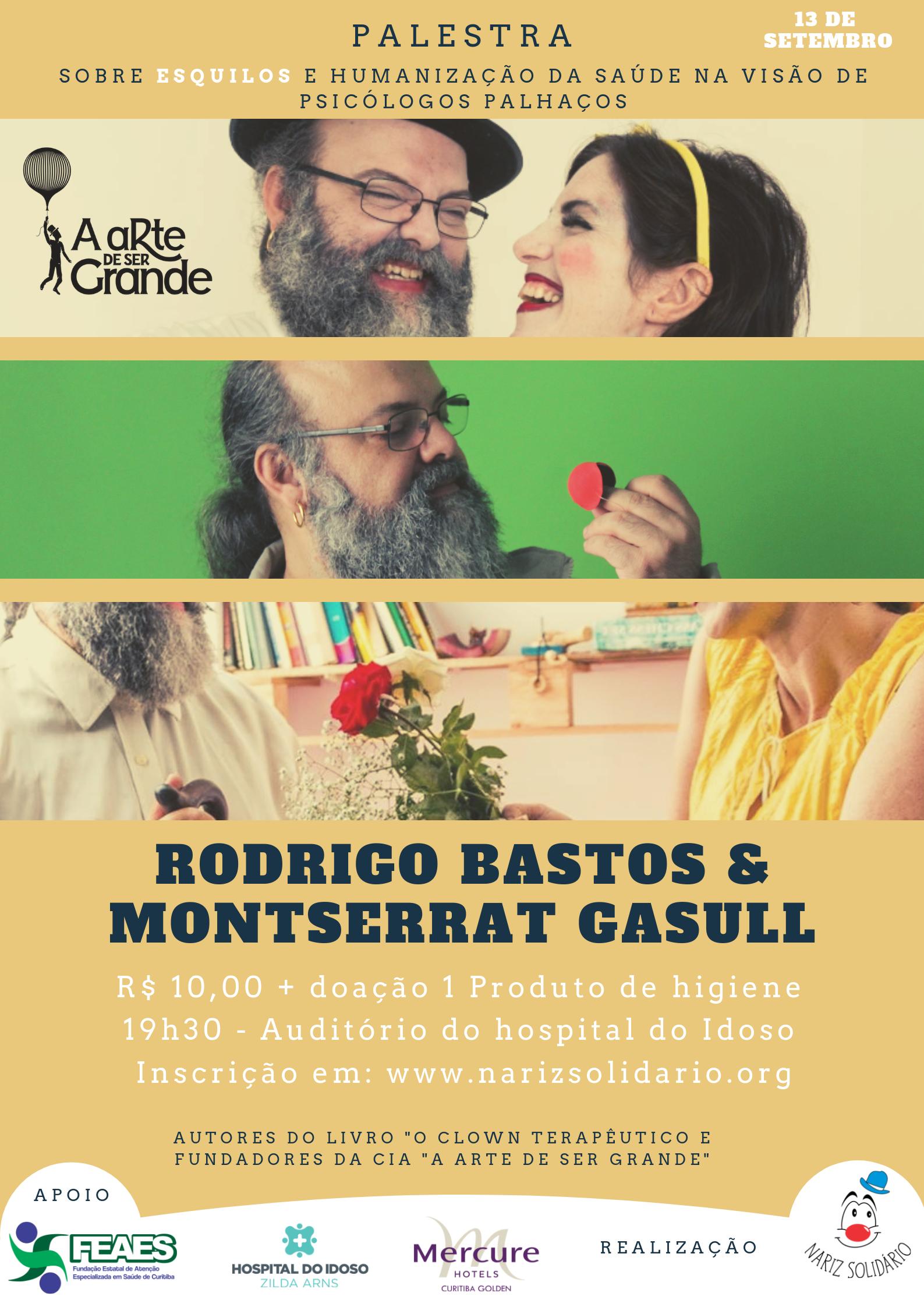 Palestra com Rodrigo Bastos e Mont.