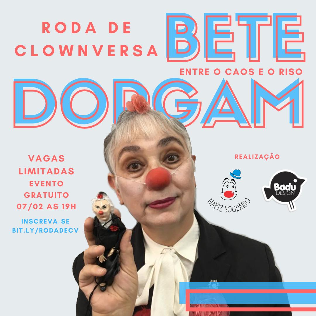 Roda de Clownversa com Bete Dorgam