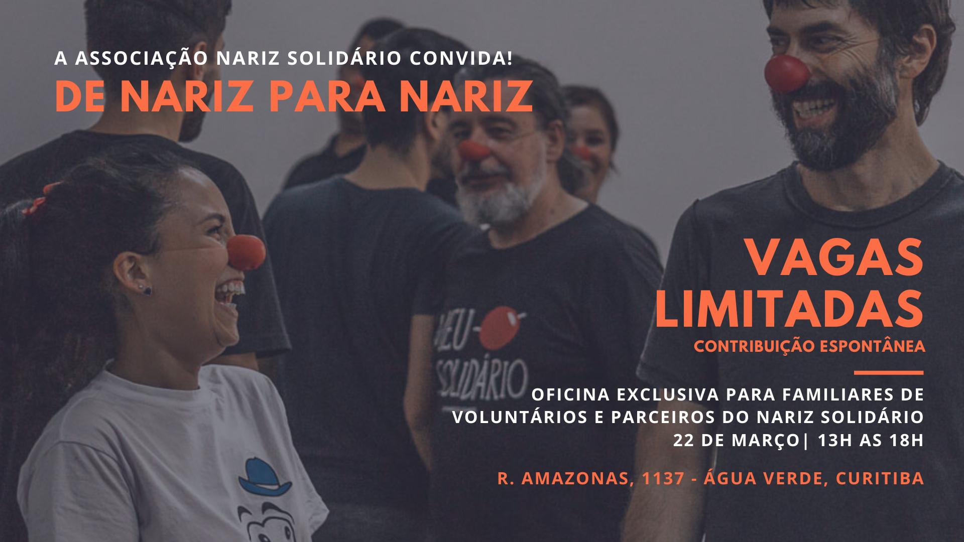 Nariz Solidário Convida Apoiadores