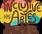 Logo transparente inclusive nas artes.pn
