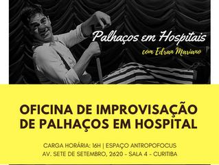 Oficina de Improvisação no hospital