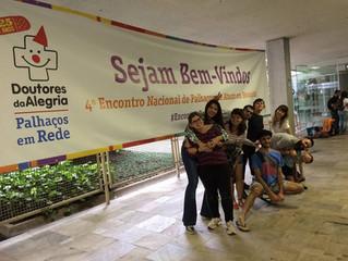 Nariz solidário no Encontrão do Doutores da Alegria
