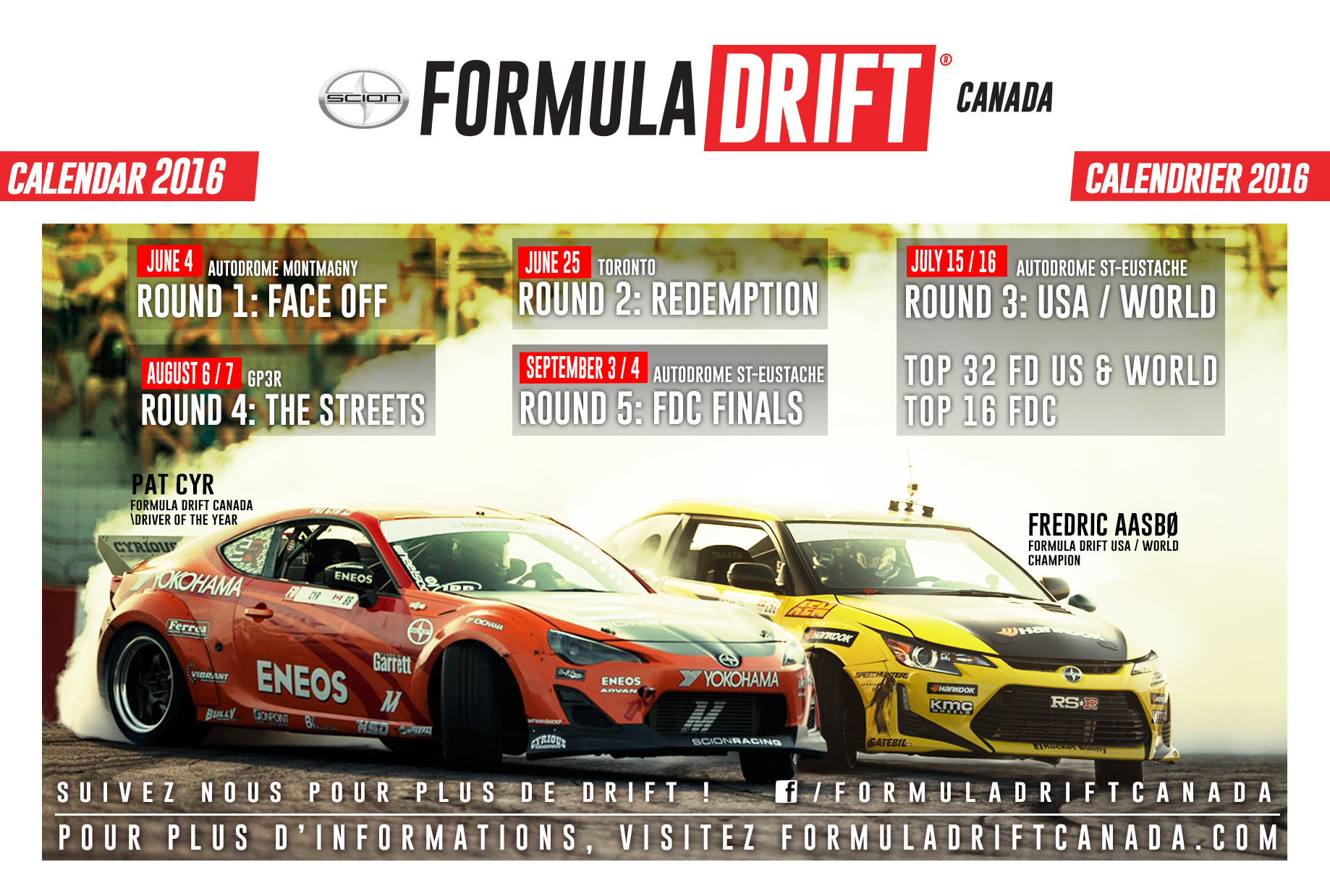 Formula Drift Canada Schedule Formula Drift Canada
