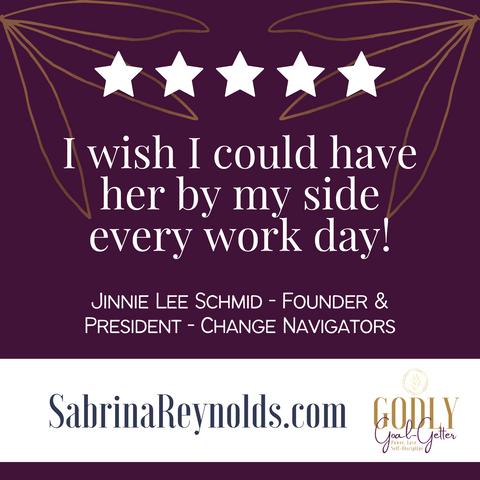 Testimonial Jinnie Lee Schmid