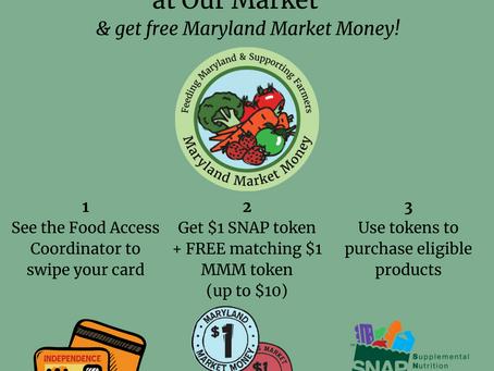 SNAP Up That Maryland Market Money