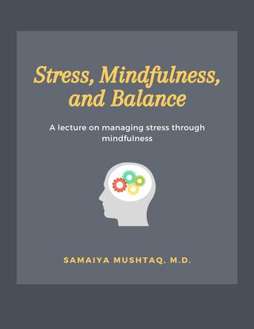 Stress, Mindfulness, and Balance