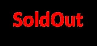 תמונה של כיתוב באדום של סולדאאוט באנגלית