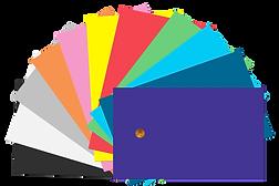 תמונה של מניפת צבעים