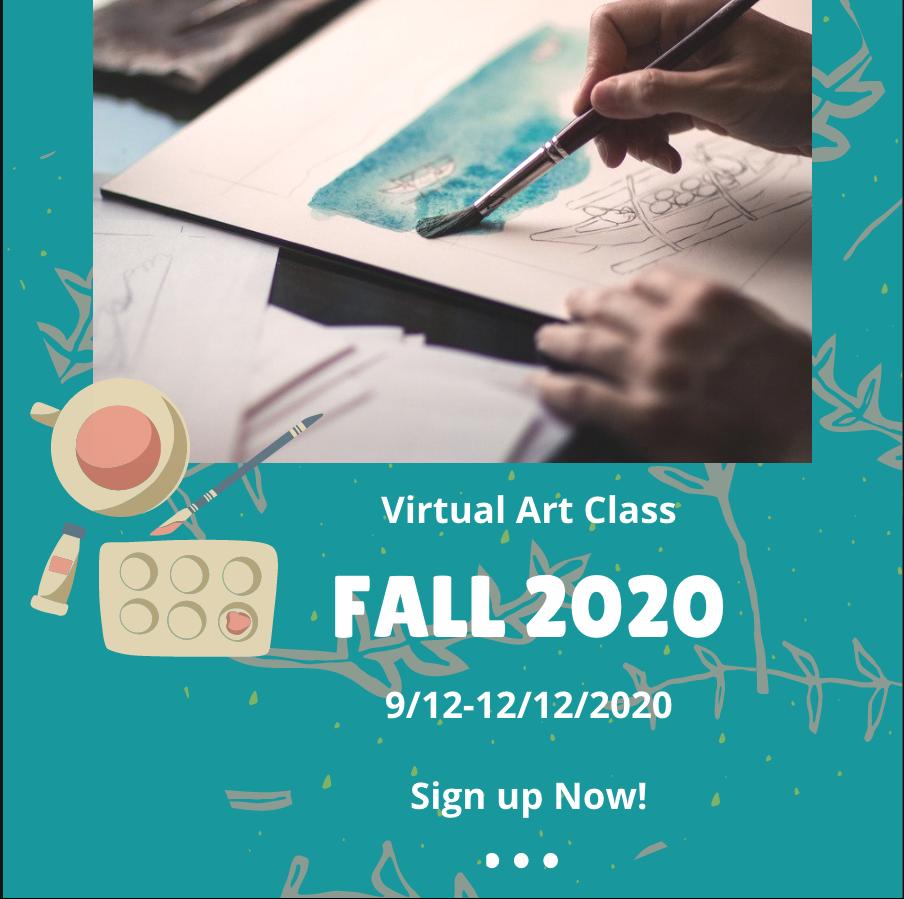 Fall art class