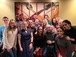 Lab Holiday Dinner 2018
