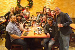 Lab Holiday Dinner 2017