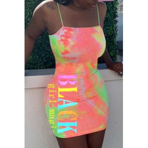 Black Girl Magic - StarBurst Dress