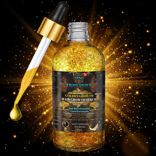Golden Goddess Hair Growth Serum