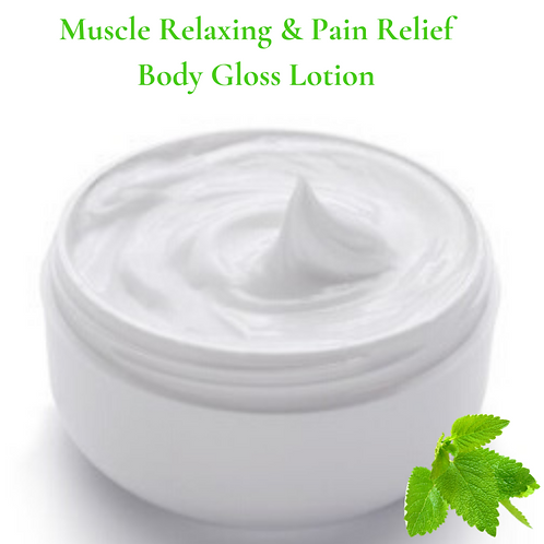 Muscle Relaxing & Pain Relief Body Gloss Lotion