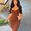 Thumbnail: Simple Brown Dress