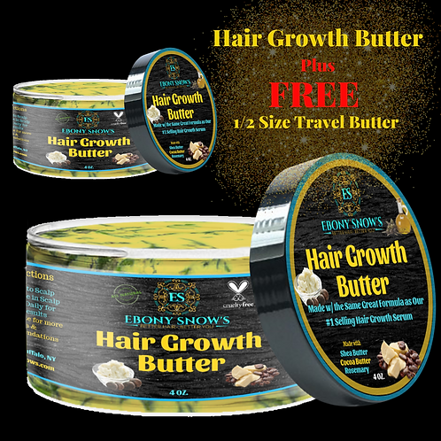 Hair Growth Butter Plus FREE Travel Butter
