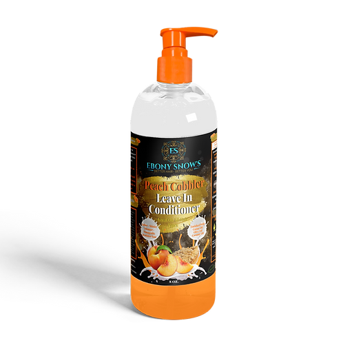Peach Cobbler Leave In Conditioner