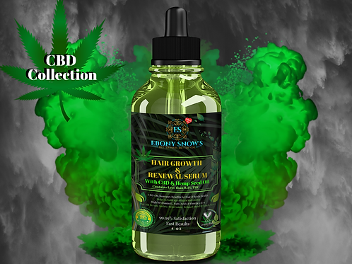CBD & Hemp Hair Growth Serum