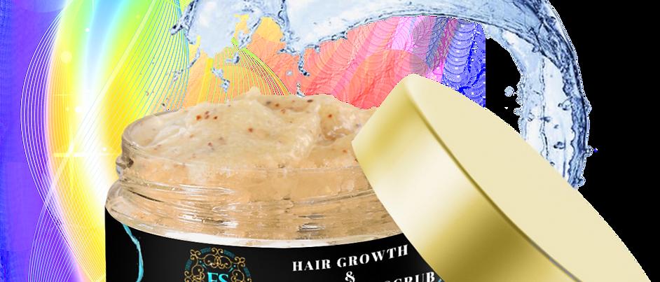 Ebony Snow's Exfoliating Hair Scrub