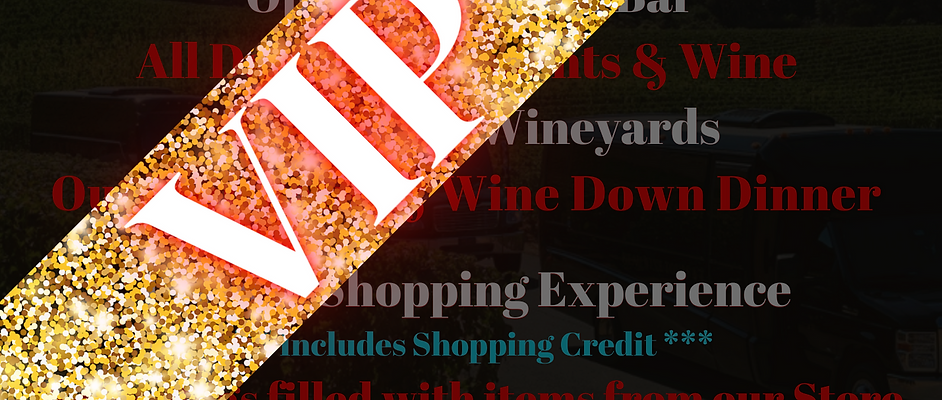 Boujie Bish Wine Tour - VIP -
