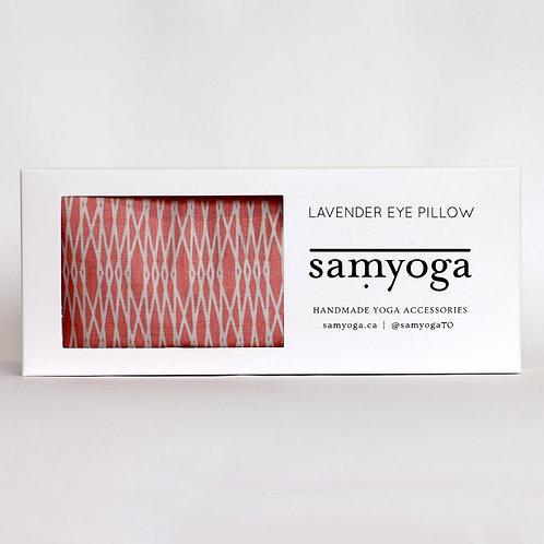 Lavender Eye Pillow - Pink Geometric
