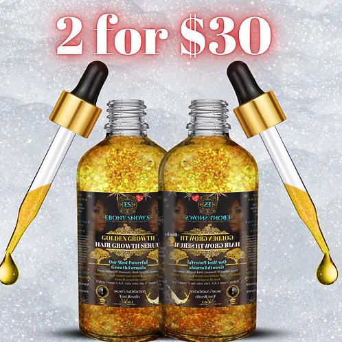 2 for $30 Golden Goddess Serums