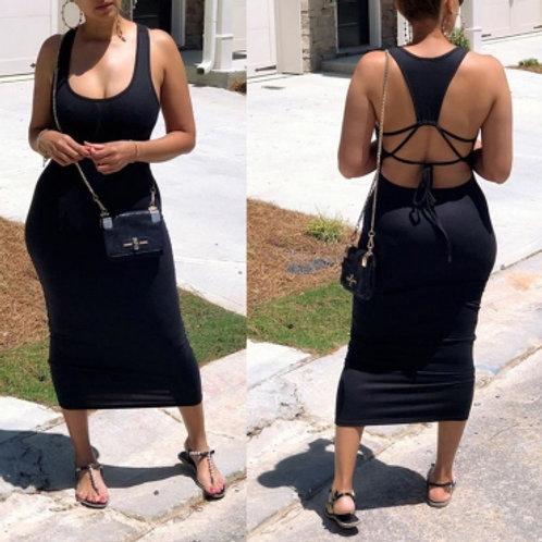 Black Maxi Dress - 5