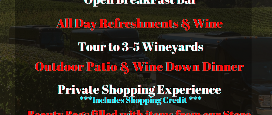 Boujie Bish Wine Tour - General Admission -