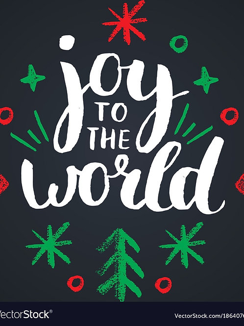 Joy to the world- Christmas Vending- Final Payment For Deposits