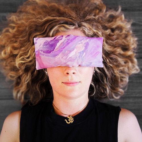 Lavender Eye Pillow - Hand Dyed
