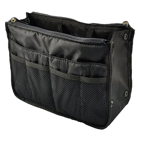 Slip In Bag - Purse Organizer - Black