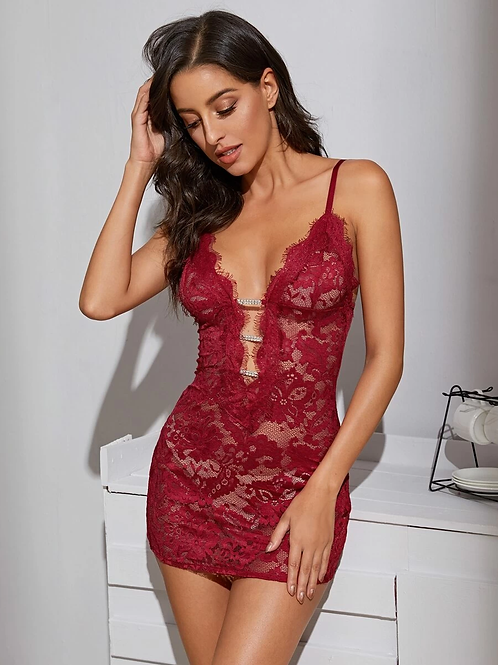 Lingerie Mini Dress