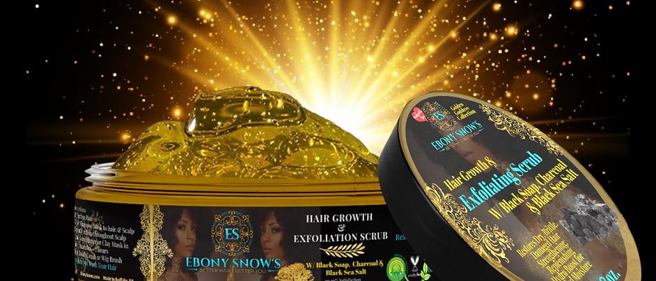 Gold Goddess Hair Growth Scrub