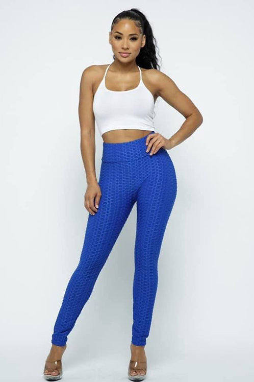 Royal Blue Yoga Pants
