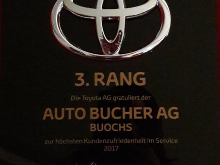 3. Rang Kundenzufriedenheit Toyota