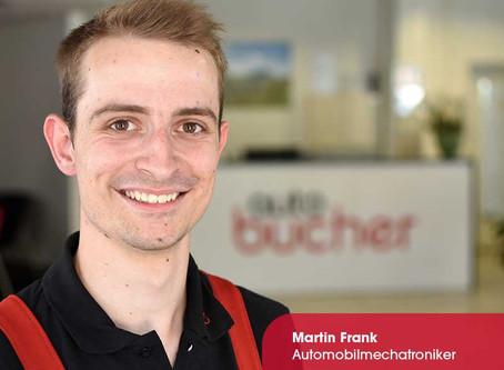 Willkommen im Team Martin Frank