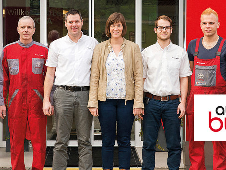 Auto Bucher AG ist Newcomer des Monats April beim Autoenergiecheck!