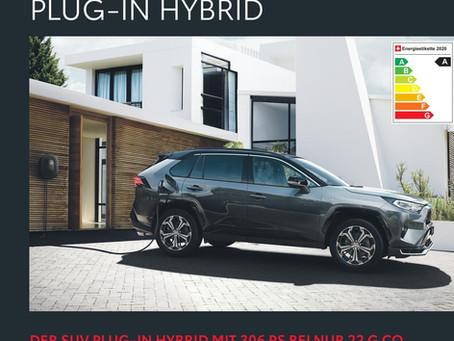 Der neue Toyota RAV4 Plug-in Hybrid - jetzt Probefahren!